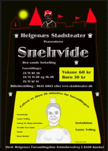 Snehvide @ Helgenæs Forsamlingshus | Knebel | Danmark